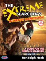The Extreme Searcher's Internet Handbook, 4th Edition, By Randolph Hock