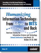 Proceedings of the 64th Annual Meeting of the American Society for Information Science and Technology (ASIST)